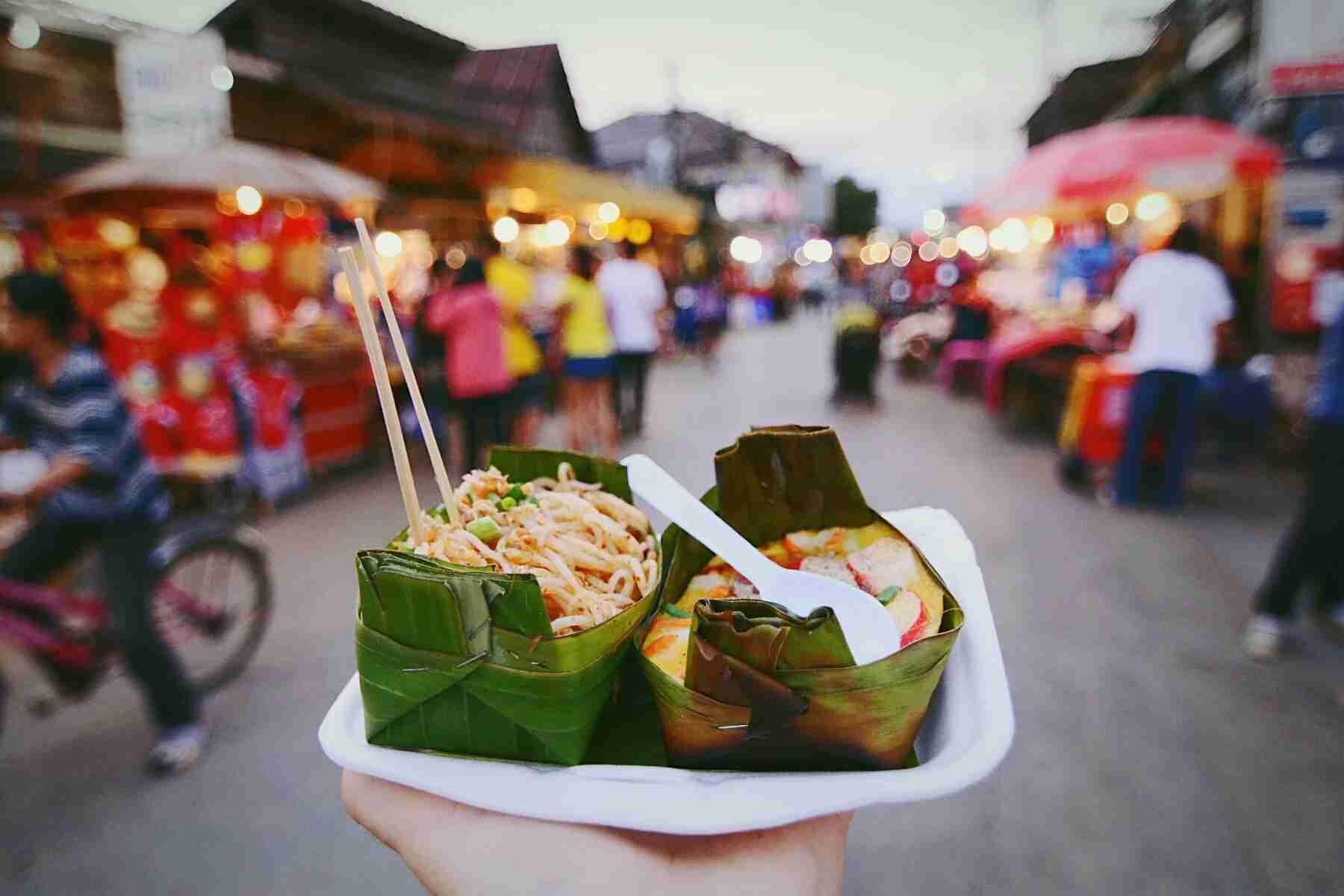 Street food in Thai market. (Photo by Cristian Mihai Vela / EyeEm)