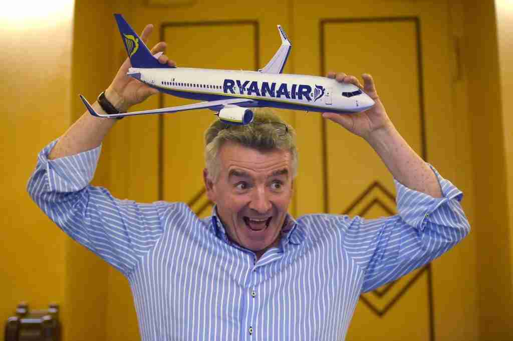 Irish airline Ryanair
