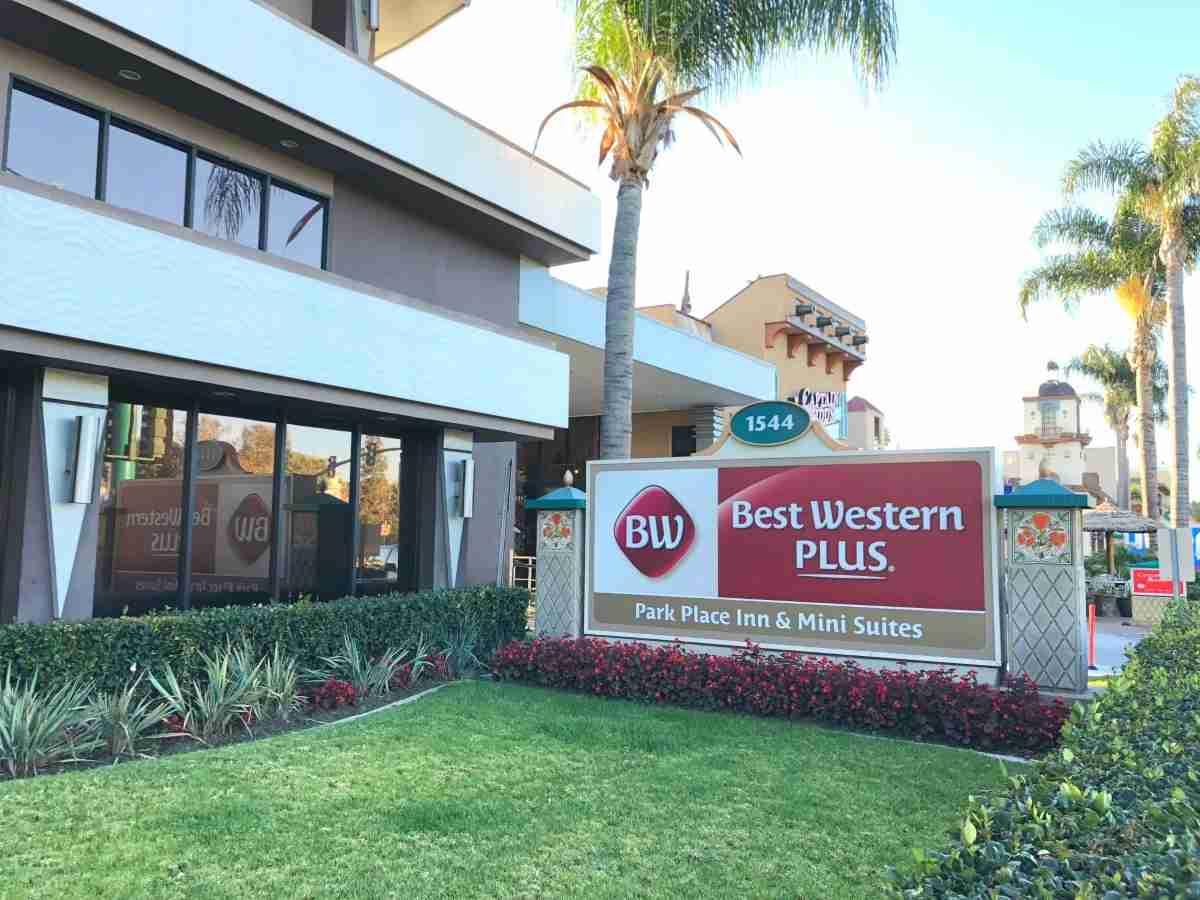 Hotels near Disneyland - Best Western Park Place