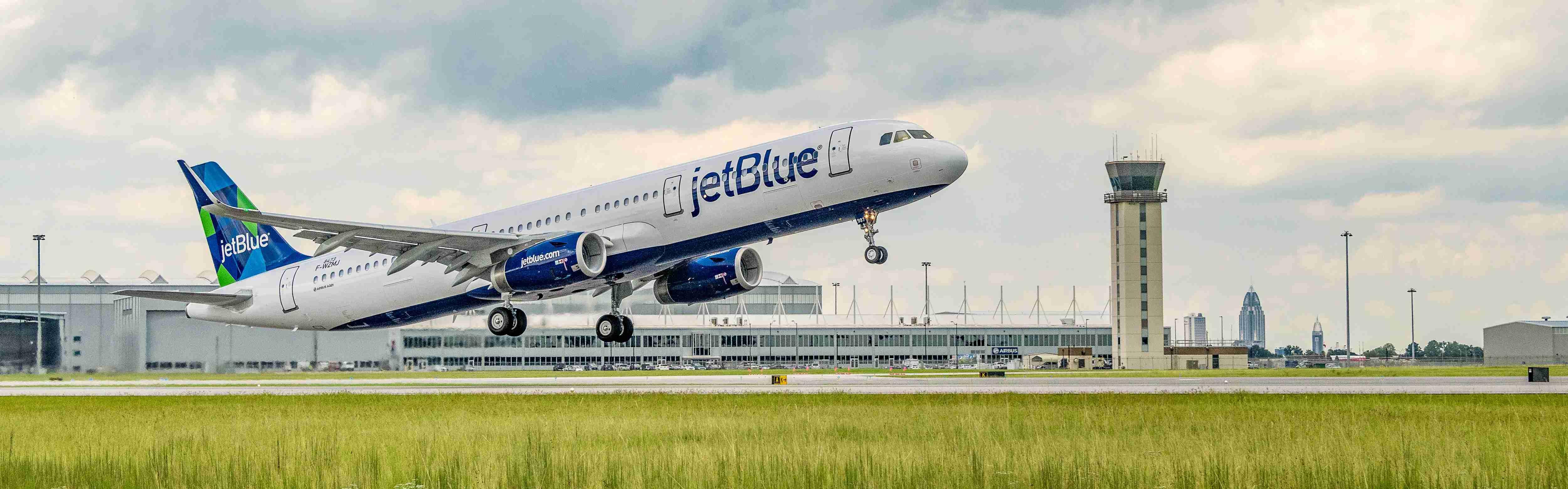 JetBlue renewable fuel a321