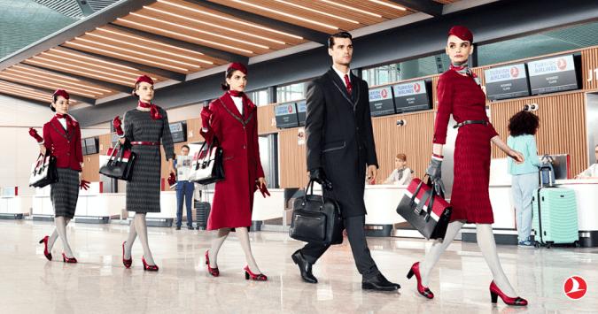 turkish airlines new uniforms