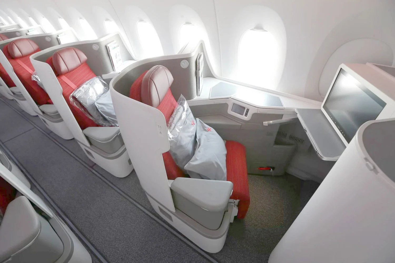 Hong Kong Airlines A350 Gets A Huge Business Class Upgrade