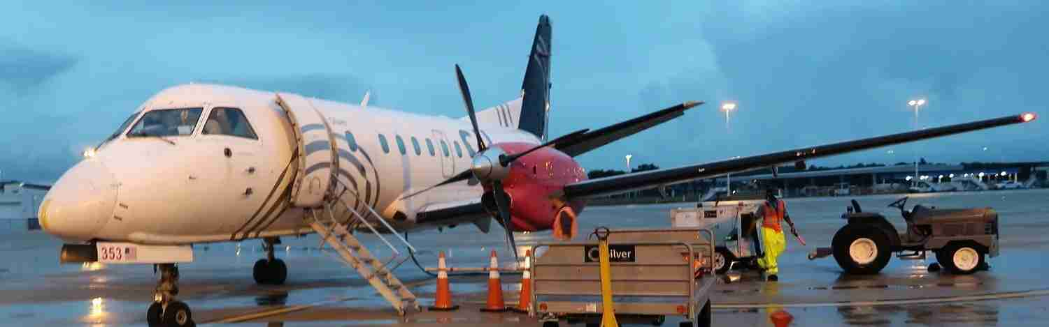 Review: Silver Airways (Saab 340B) From Jacksonville to Tampa