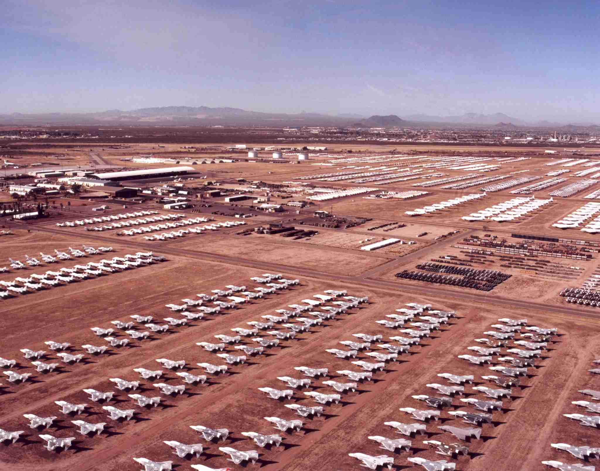 Photo courtesy of the Davis Monthan Air Force Base