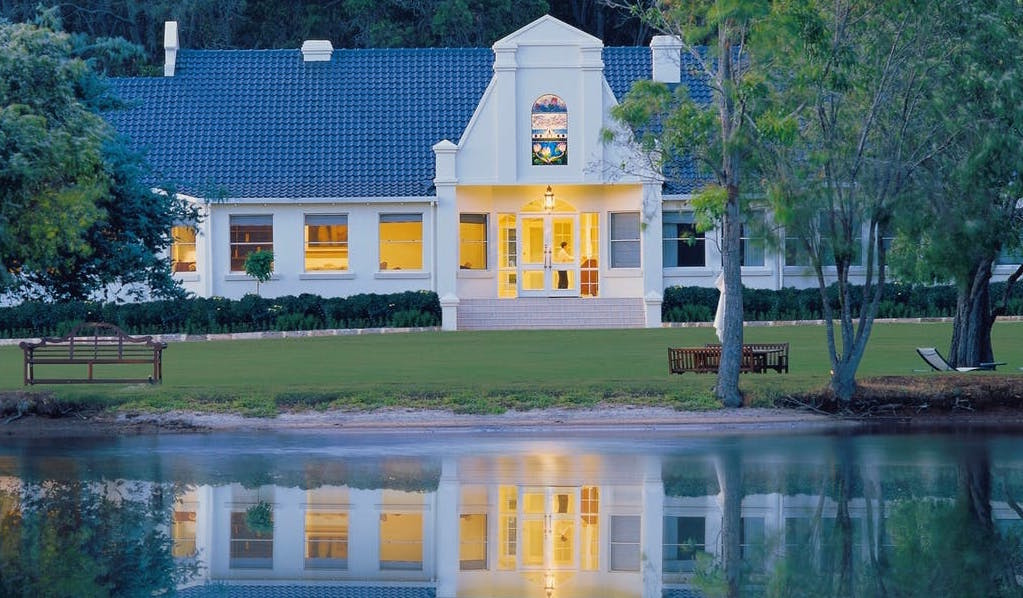 Spend the weekend at the luxurious Cape Lodge. Photo courtesy of Cape Lodge.