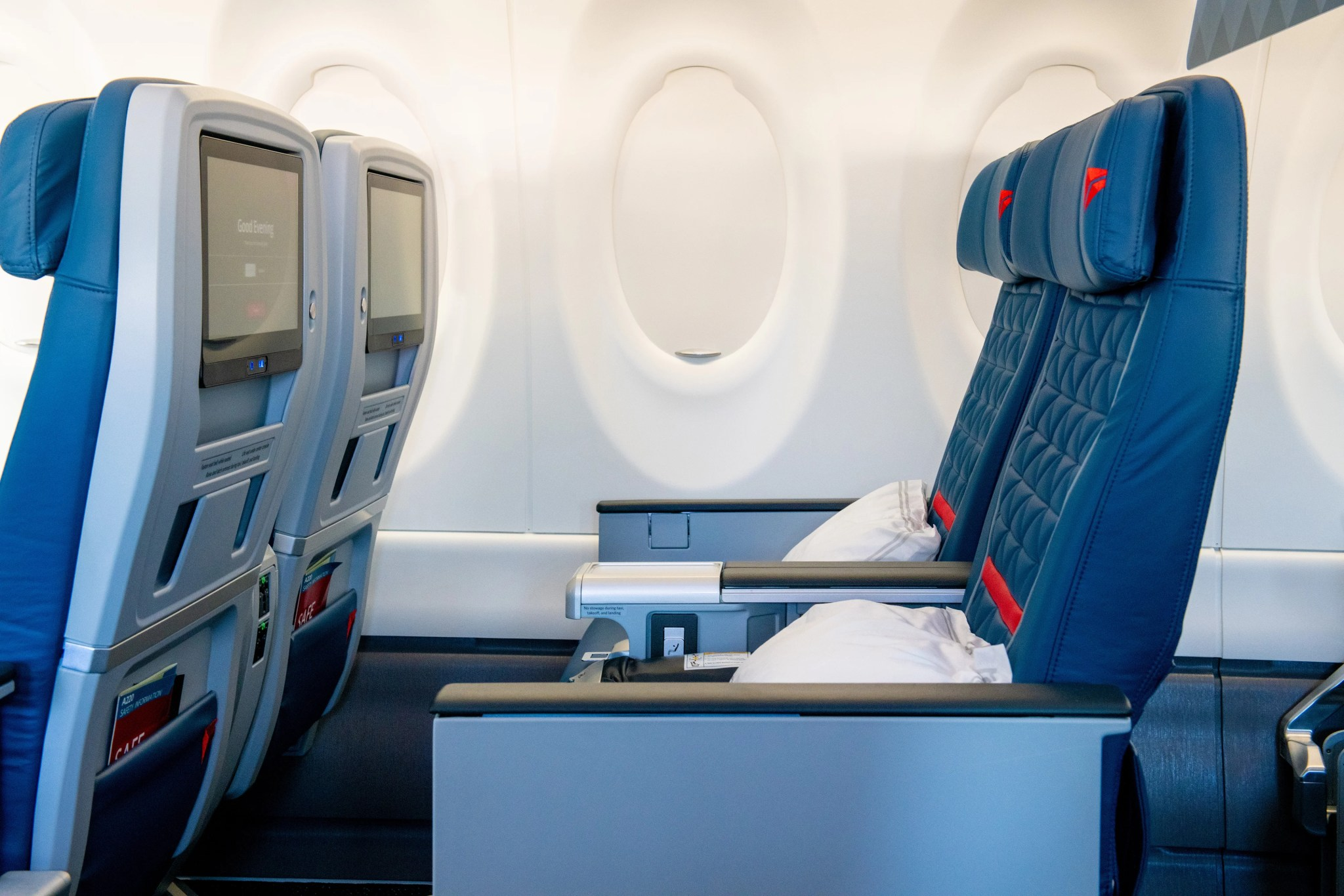 Your First Look Inside Delta S A220