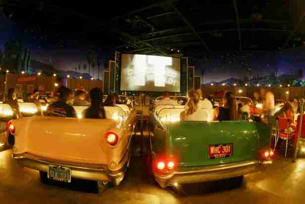 Disney Sci-Fi Drive in (PHOTOS BY GARY BOGDON)