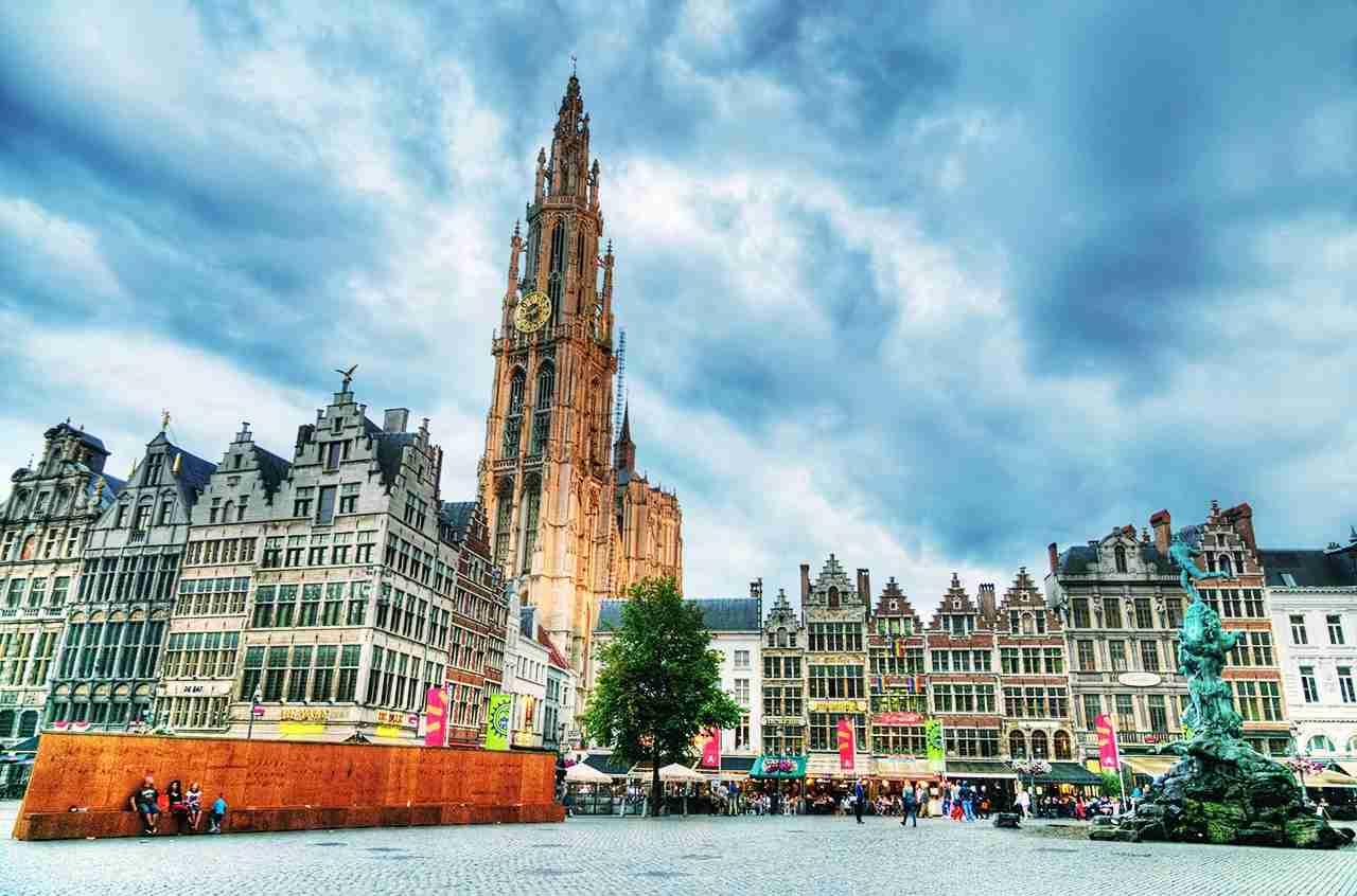 The Grote Markt, Antwerp