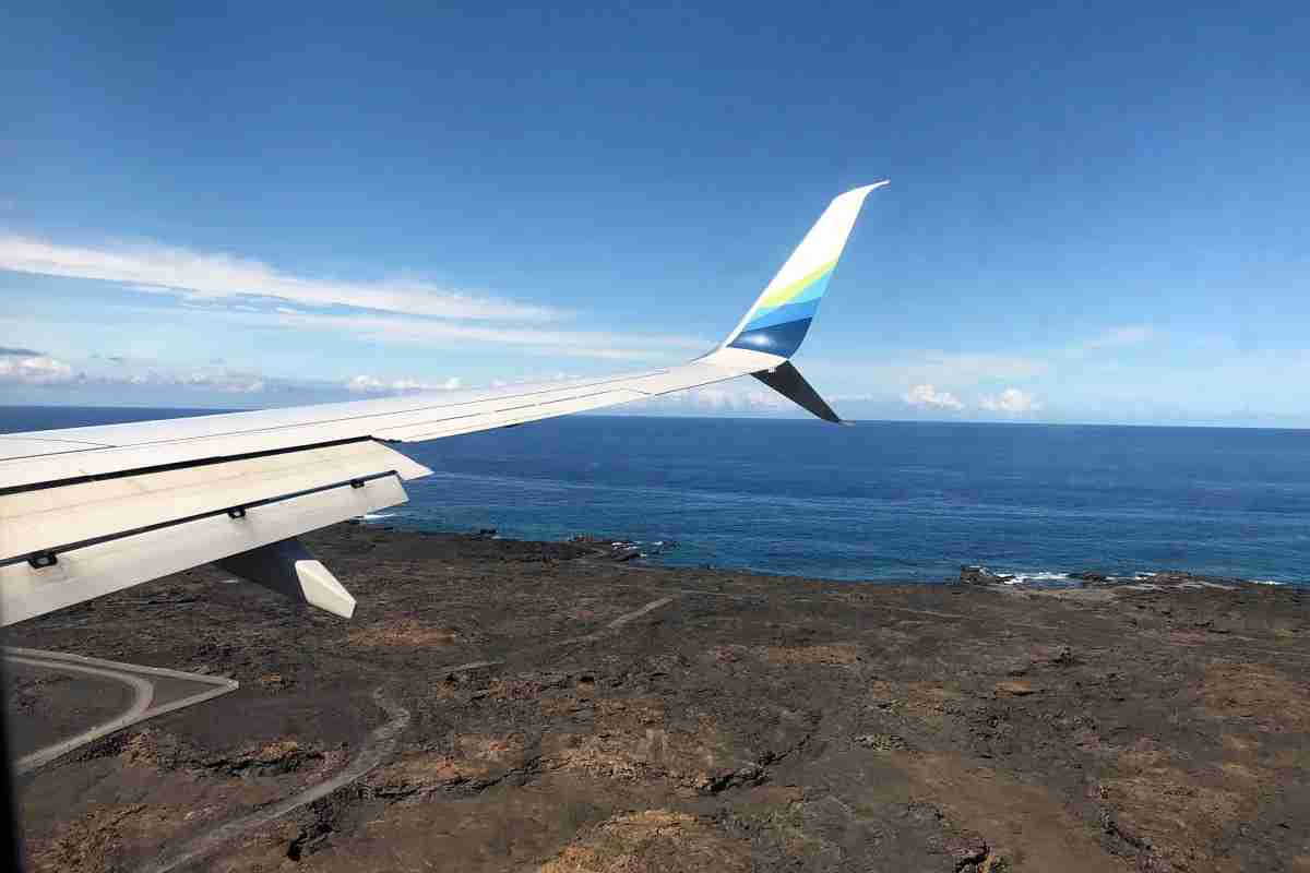 Hawaii Big Island with Kids - Black Lava KOA Airport