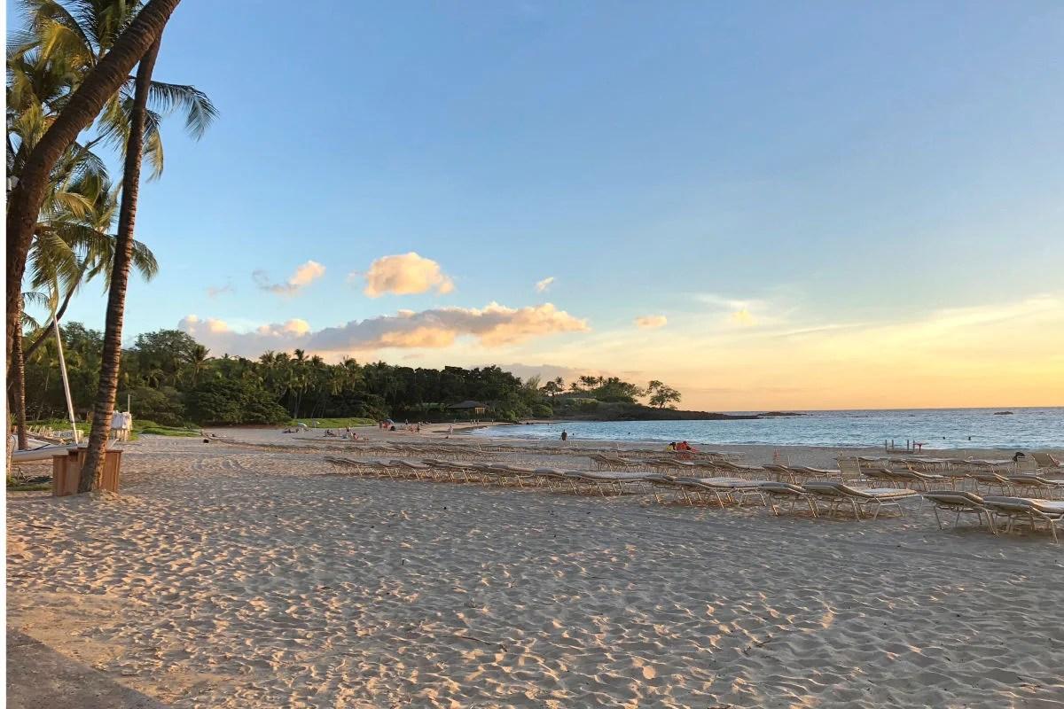Hawaii big island with kids mauna kea beach