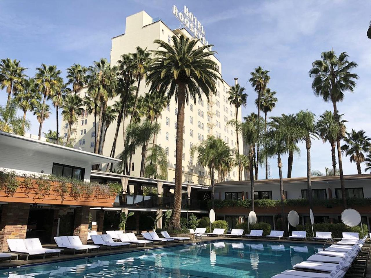 Hotel Roosevelt, Los Angeles, California. Photo courtesy of Hotel Roosevelt.