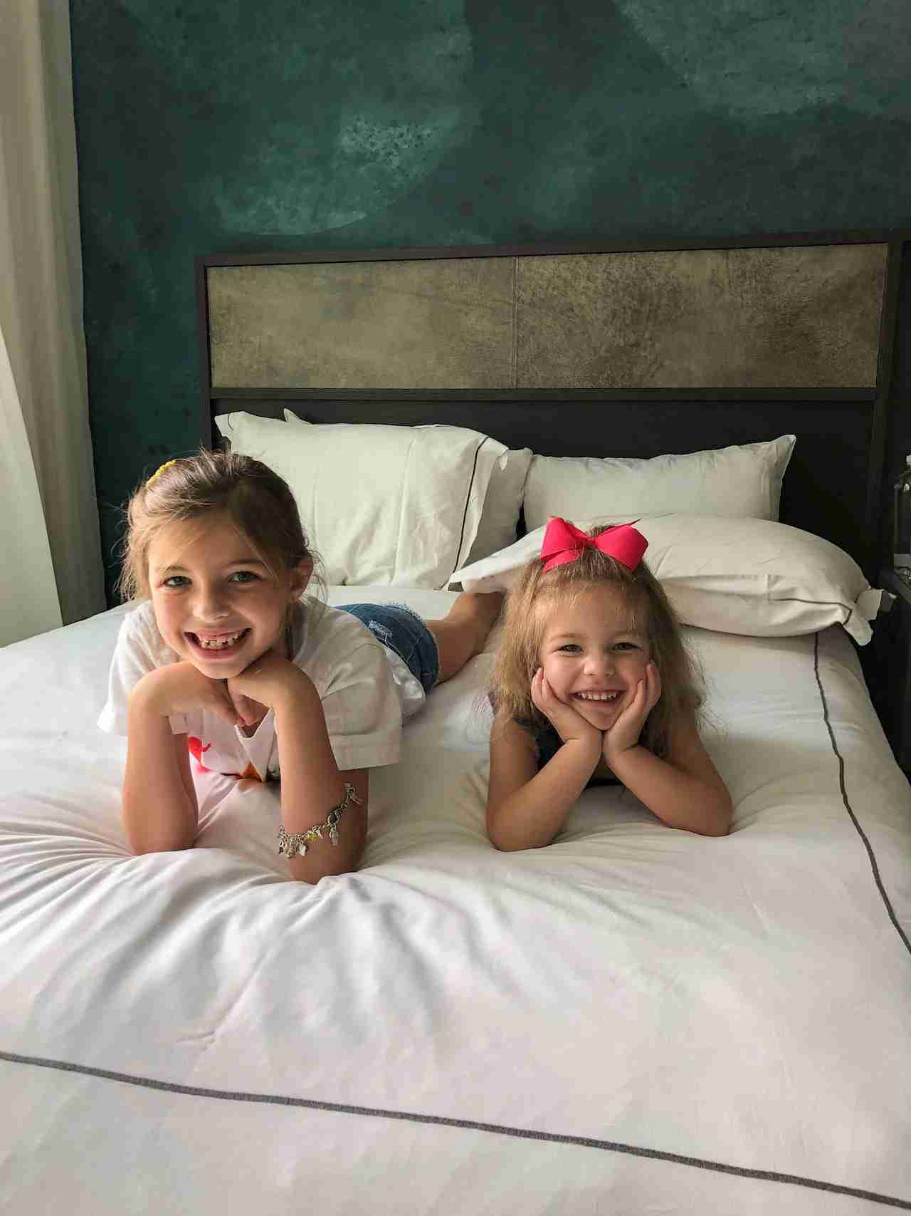 Our girls felt right at home at the Kimpton Van Zandt