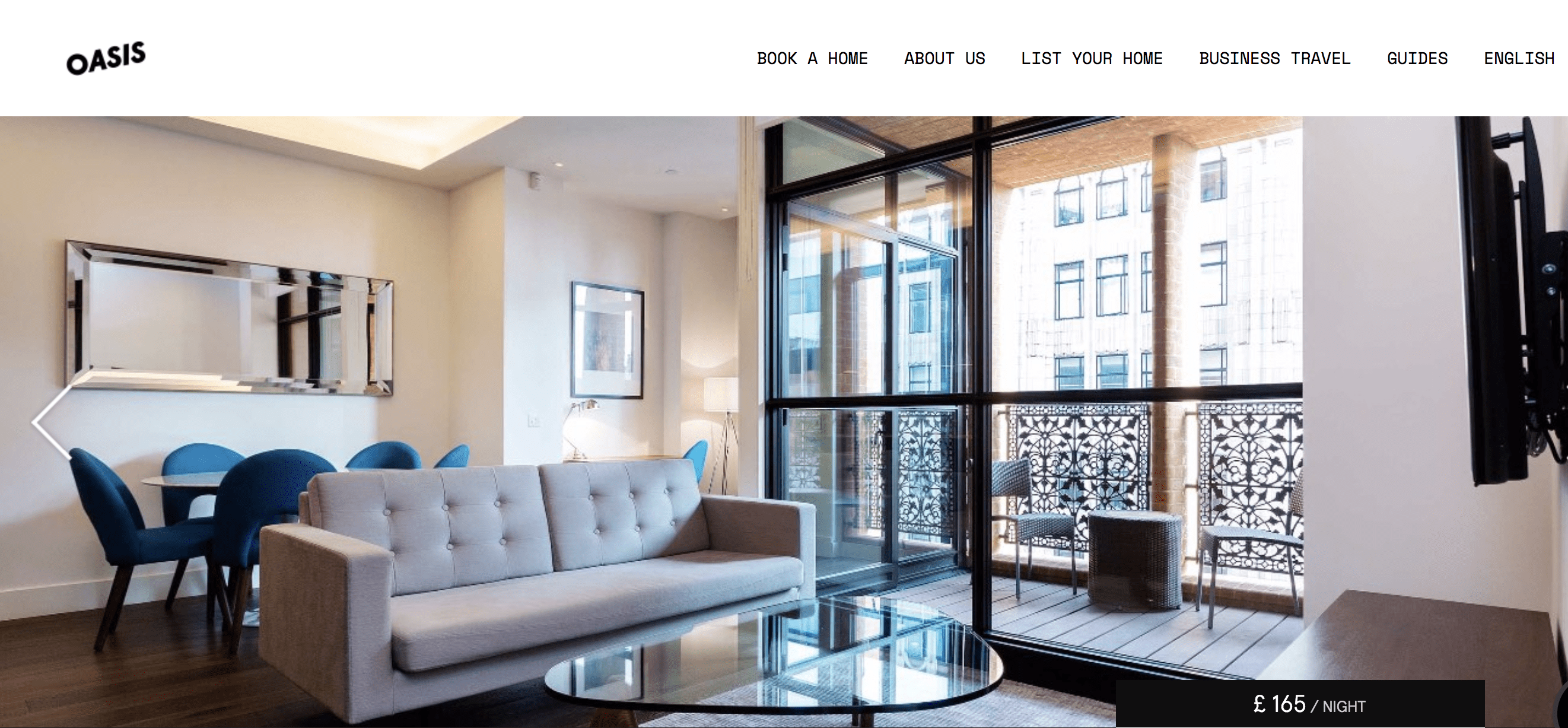 An Oasis Home Rental in London