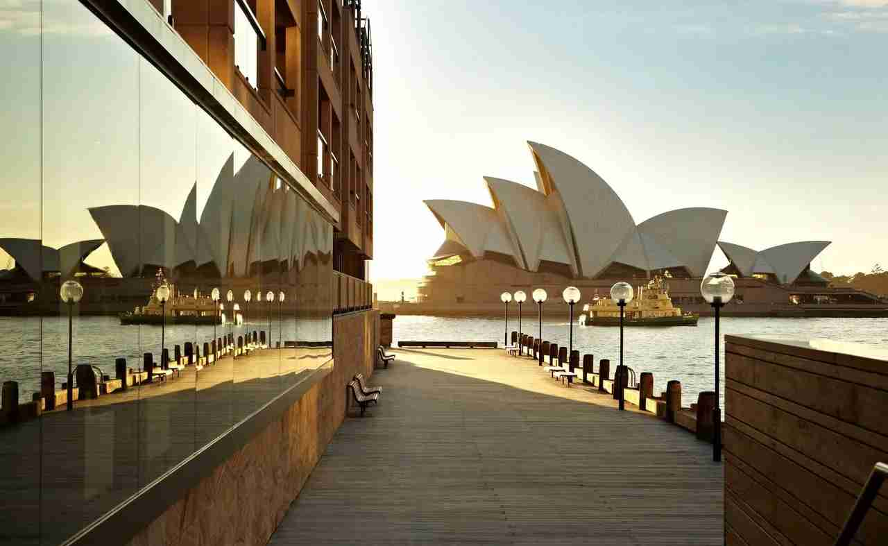 Talk about dining with a view! (Photo courtesy of Park Hyatt Sydney)
