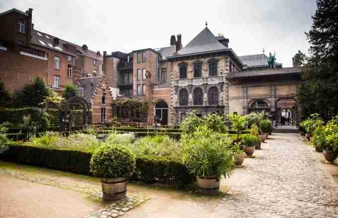 Peter Paul Rubens Home, Antwerp Belgium. (Photo courtesy of Rubens House)