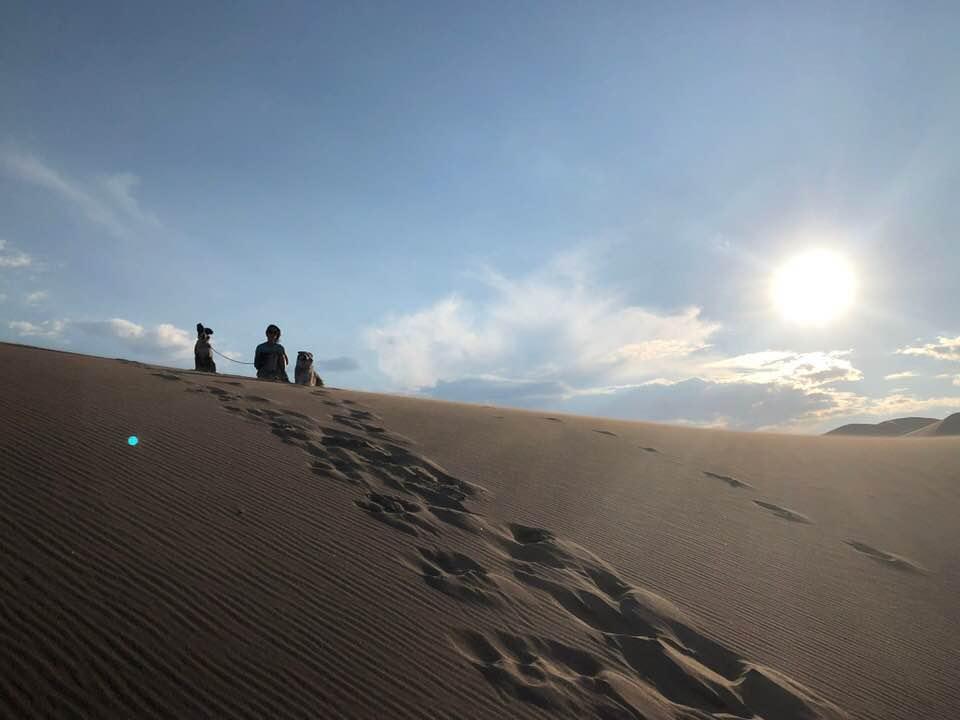 Sand Dunes (courtesy of Aaron Hull)
