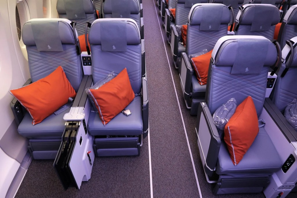 Best and Worst Seats in Premium Economy on Singapore\'s A350-900ULR