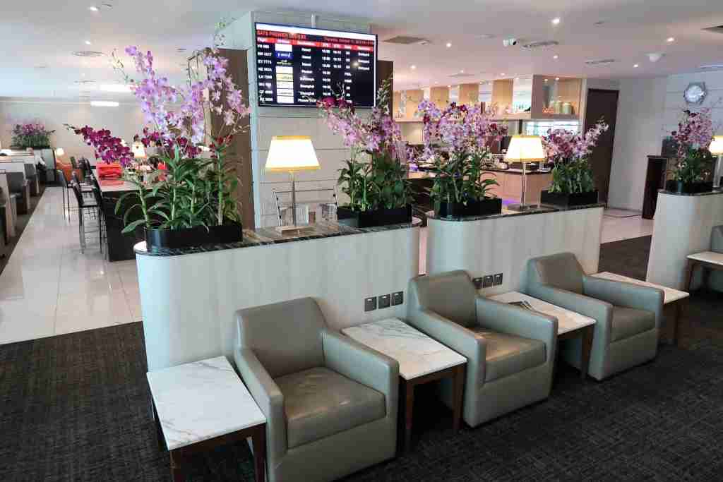 A look inside SATS Premier Lounge at Singapore