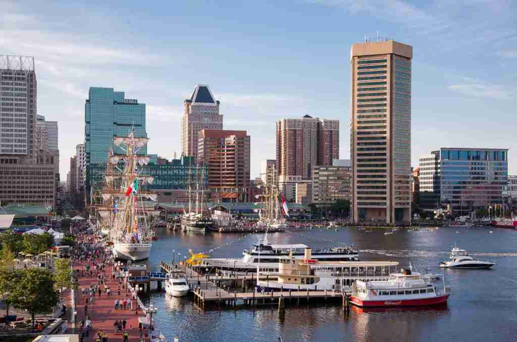 The tall ships of Baltimore