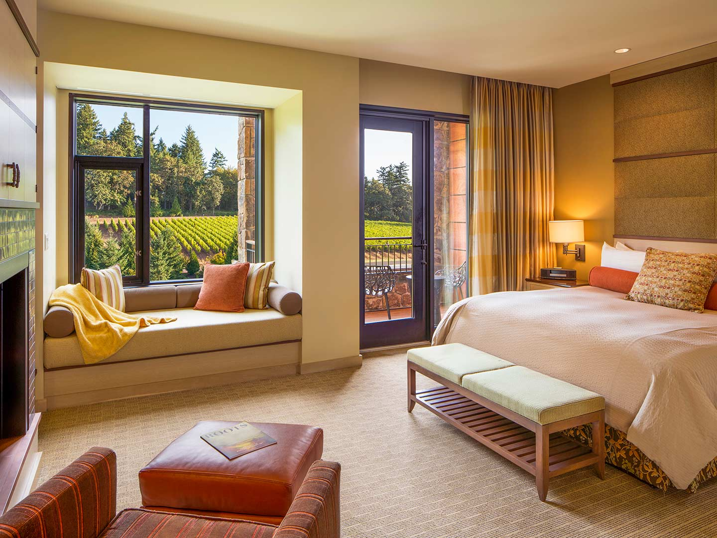 The Allison Inn & Spa is the nicest hotel in the Willamette Valley.