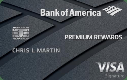 bank of america premium rewards credit card - Bank Of America Travel Rewards Card Benefits