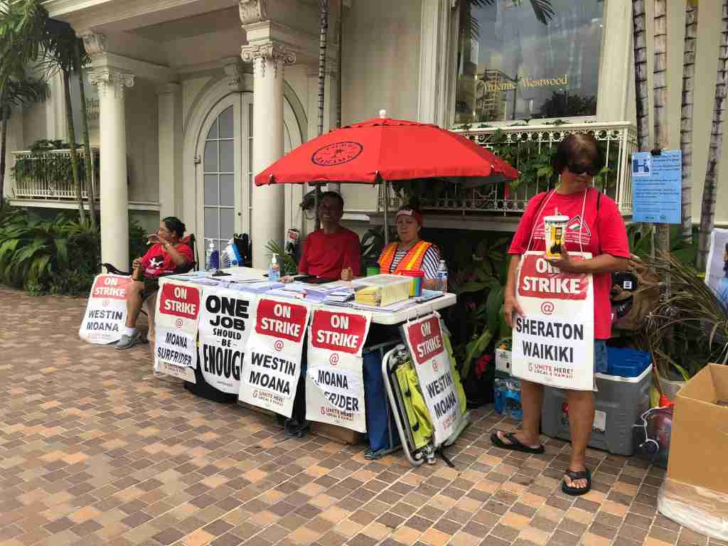 Marriott Hawaii strike