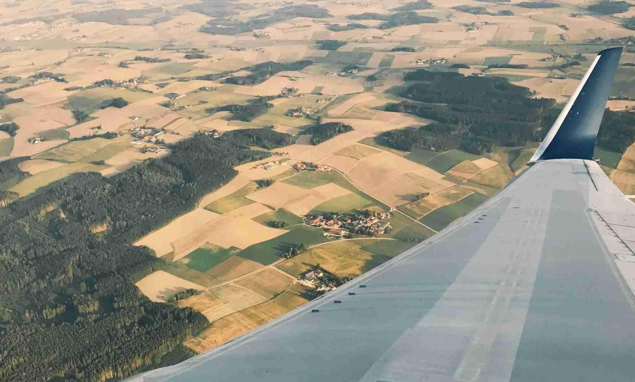 Delta 767 flights over Munich, Germany