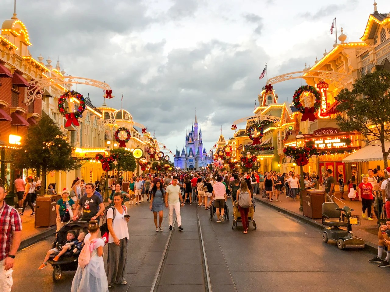5 hour waits for fun: The week we'd never visit Disney World