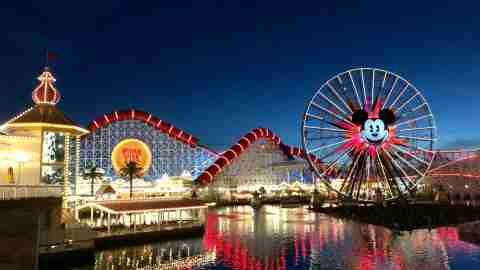 Disneyland Lines - Disney California Adventure
