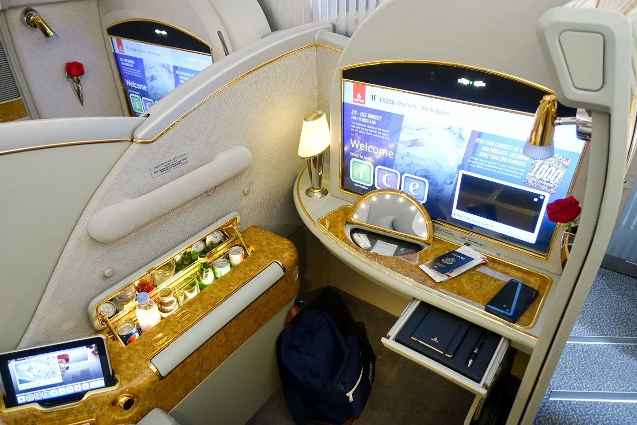 Book now: One-way Emirates first class for less than $3,300