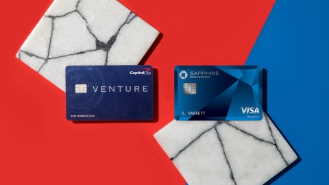 Chase Sapphire Preferred vs  Capital One Venture- The Points Guy