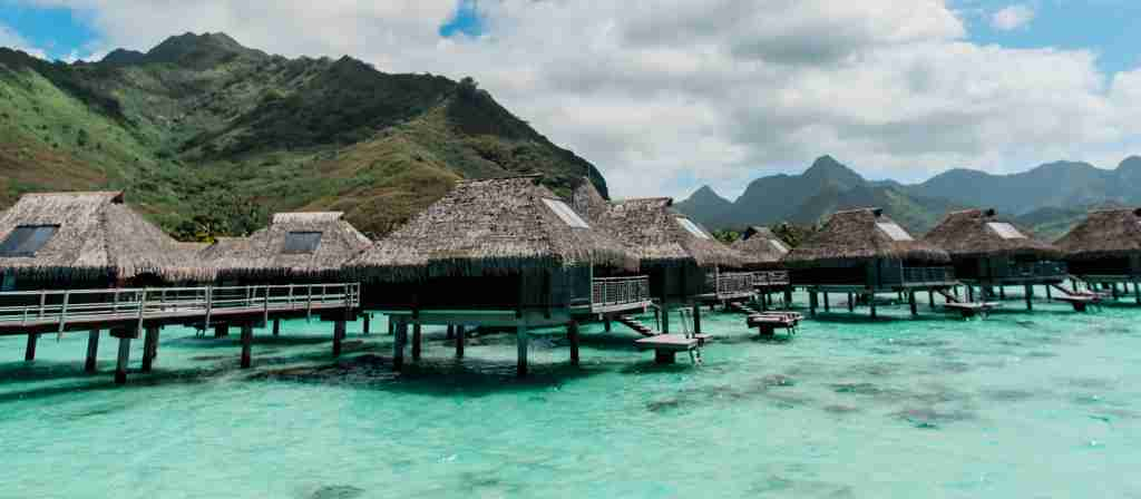 Hilton Moorea Lagoon Resort and Spa overwater bungalows (Photo by Darren Murph / The Points Guy)