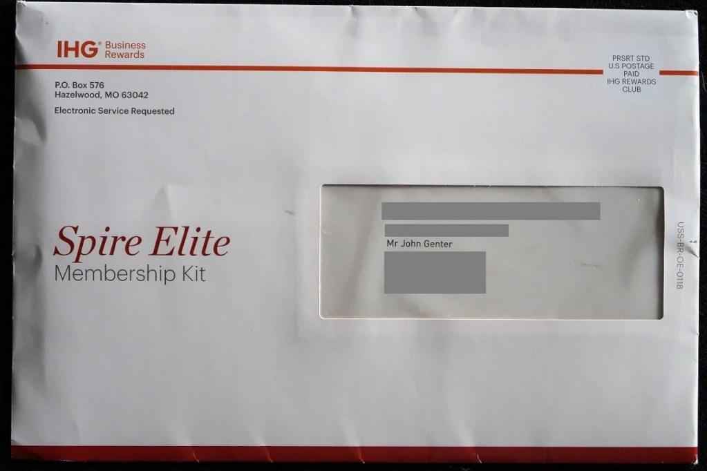 IHG Spire Elites: Claim Your Elite Status Gift Before It's