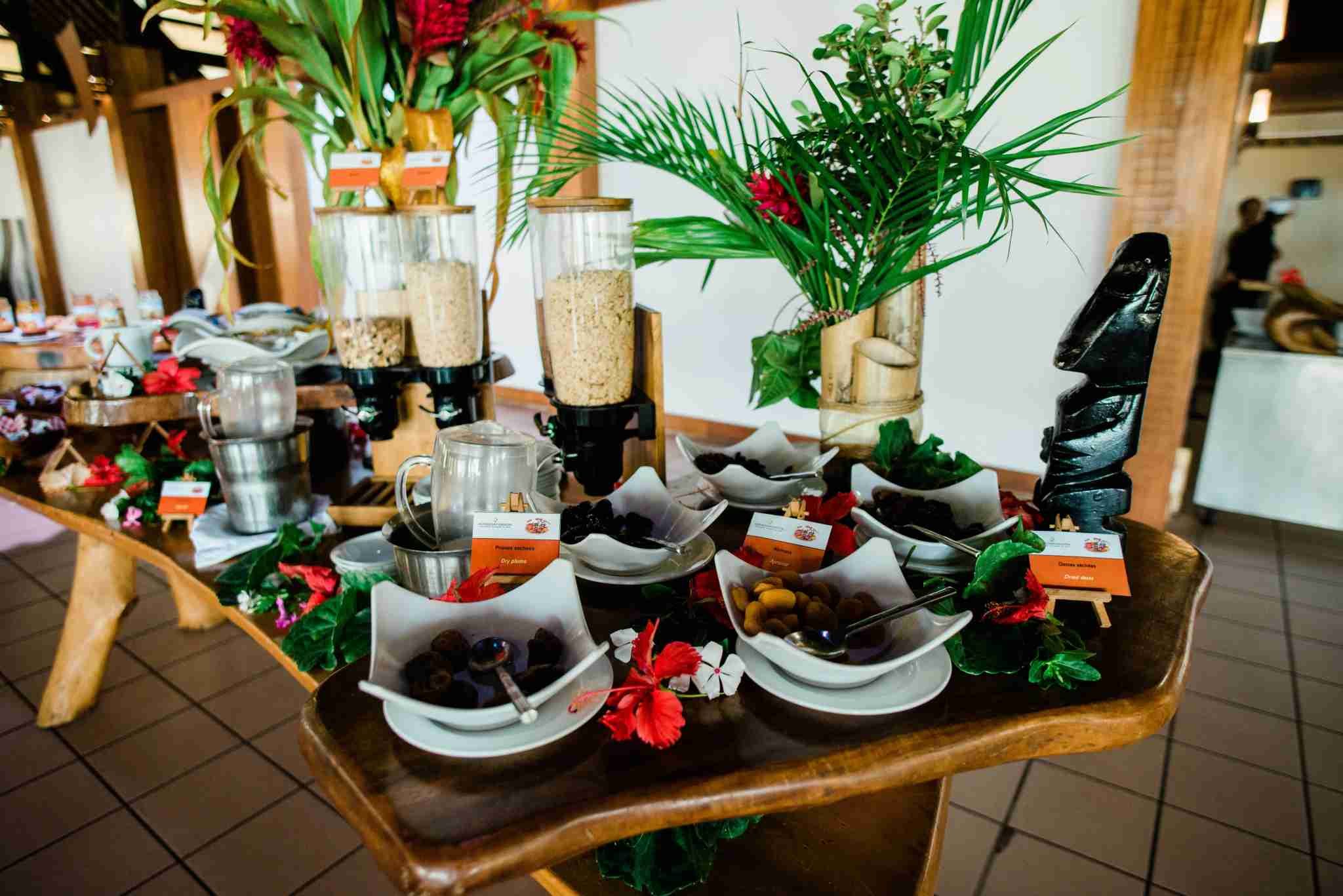 InterContinental Resort and Spa Moorea - breakfast buffet