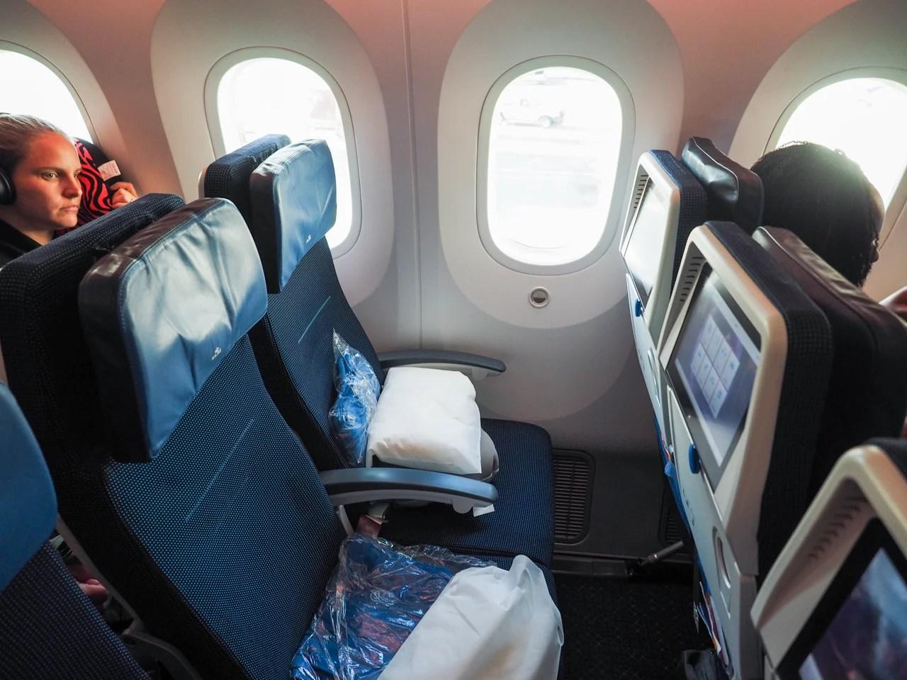 Sensational Review Klm 787 9 In Economy From New York To Amsterdam Frankydiablos Diy Chair Ideas Frankydiabloscom