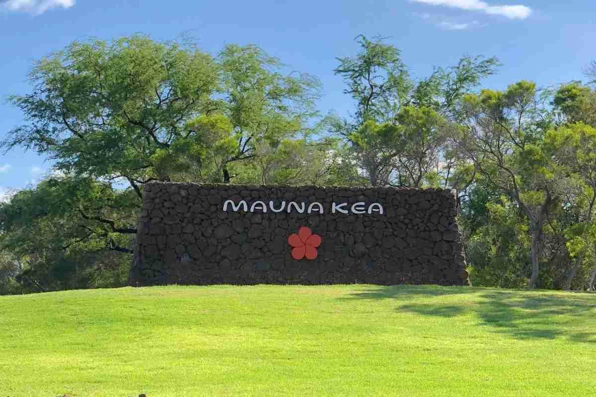 Mauna Kea Beach Hotel - Hotel Sign