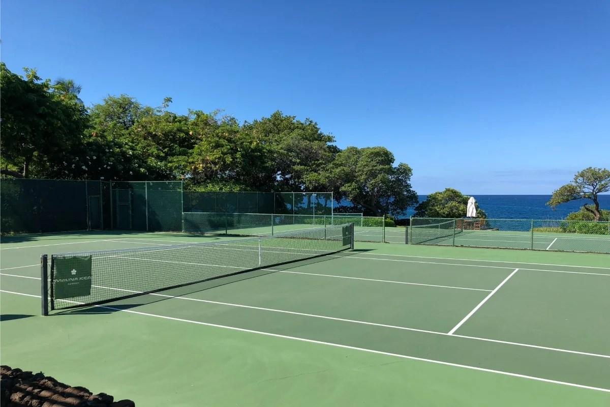 Mauna Kea Beach Hotel Review - Campos de ténis