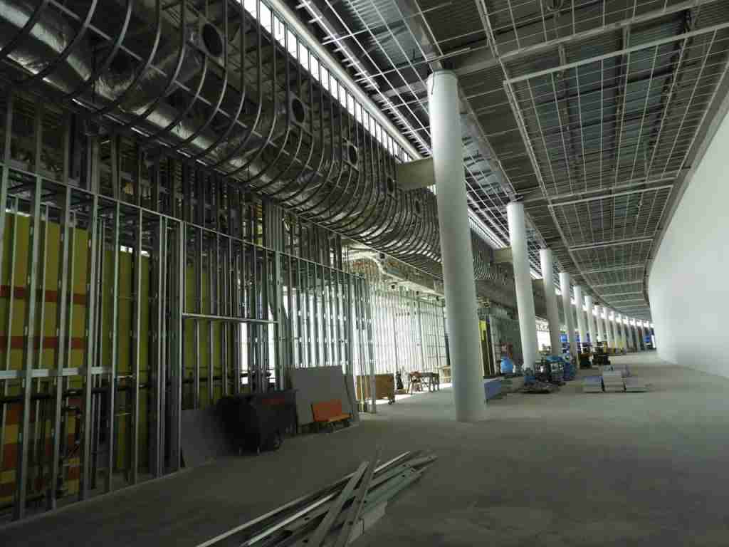 New Orleans Airport Concourse A under construction - Photo by Chris Sloan