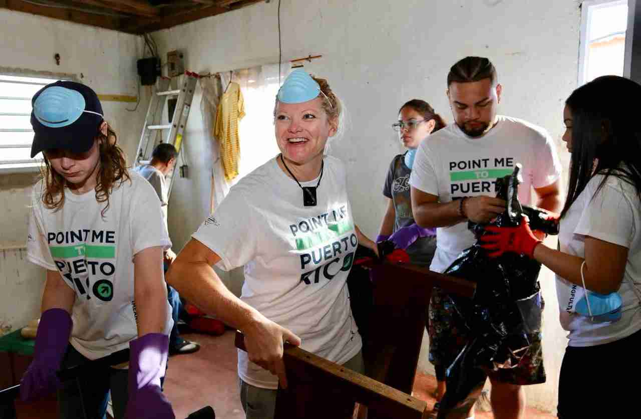 TPG crew helps rebuild hurricane destroyed homes in San Juan