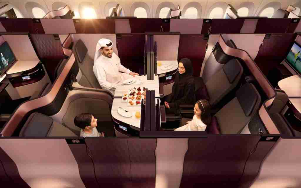 Photo courtesy of Qatar Airways.