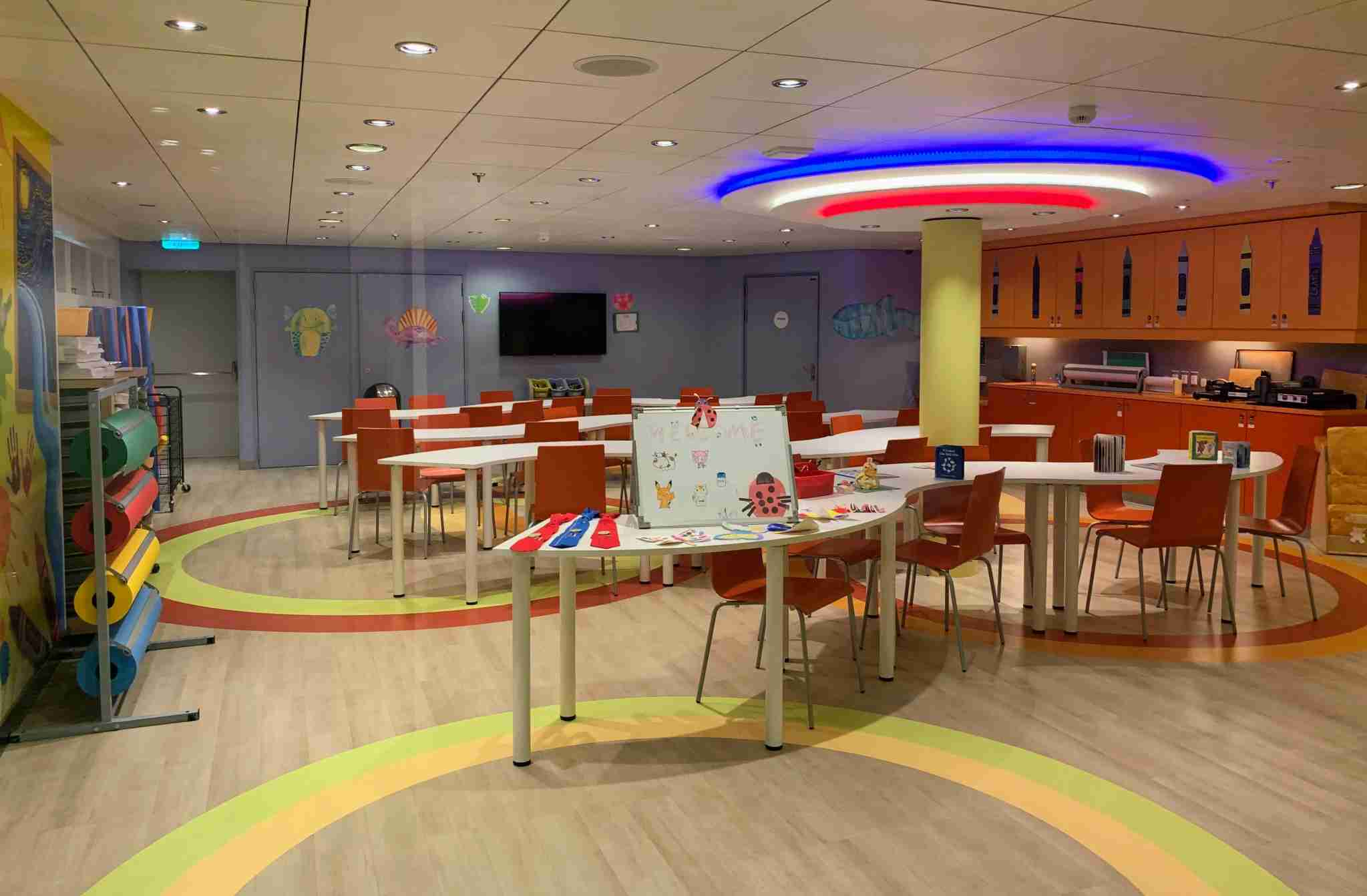 Royal Caribbean Symphony of the Seas - Learning Center for Kids