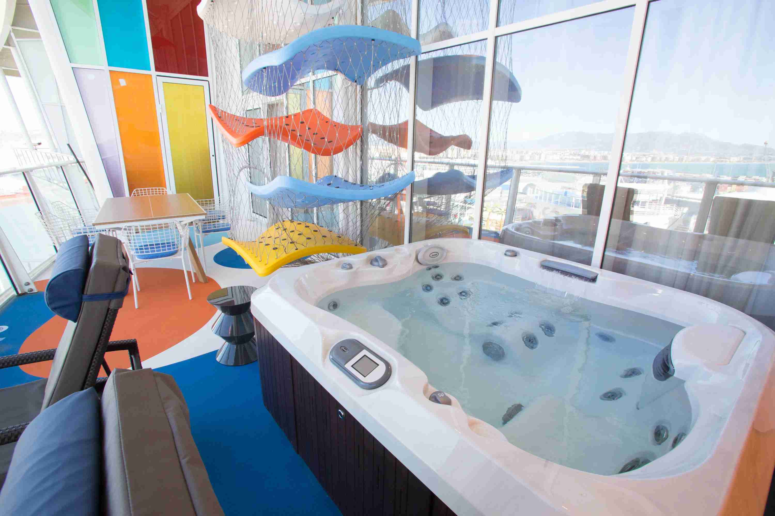 Royal Caribbean Symphony of the Seas - Ultimate Family Suite Balcony Deck