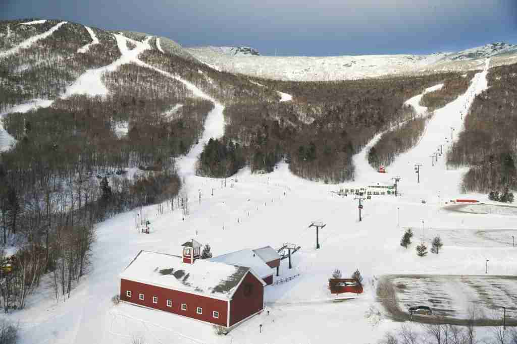 Stowe Mountain, Vermont. (Photo via Shutterstock)