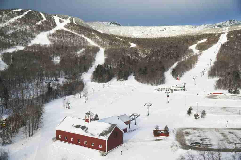 Stowe Mountain, Vermont. (Photo via Shutterstock)