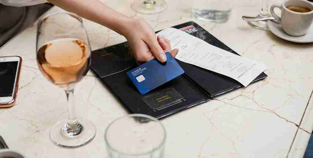 Chase Sapphire Preferred Credit Card in use