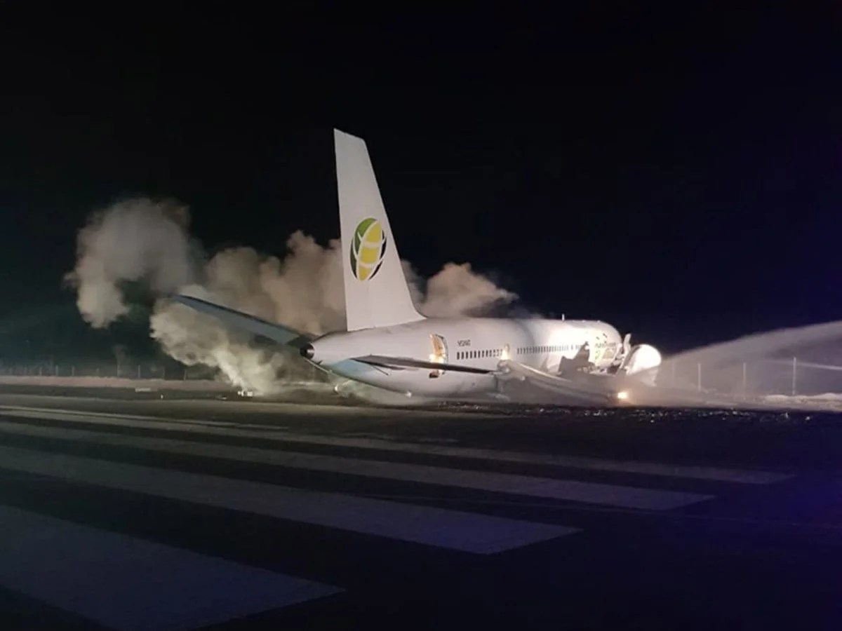 Fly Jamaica 757 Overshoots Runway in Guyana, Injuring 6 People