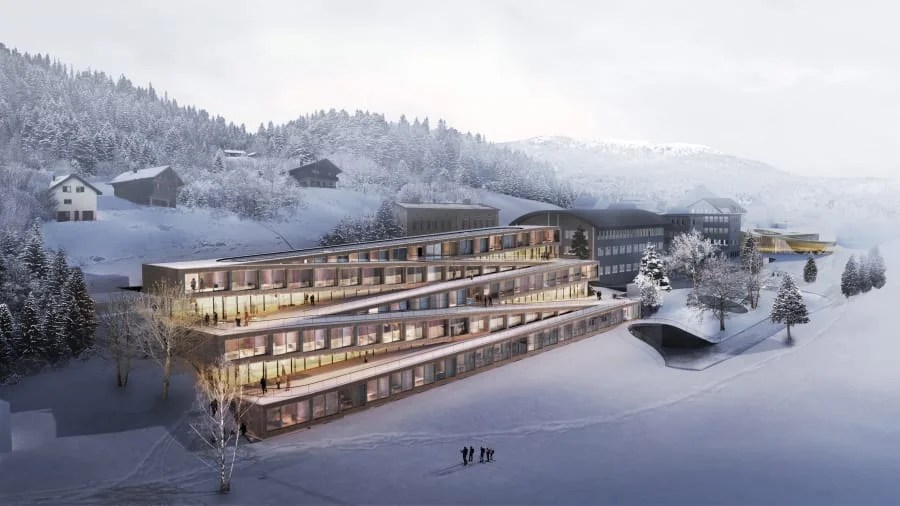 Swiss Hotel Will Allow Guests to Ski Down Its Roof in 2020