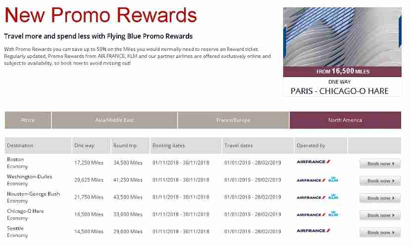 Flying Blue Promo awards can be one of best award travel deals of any airline.