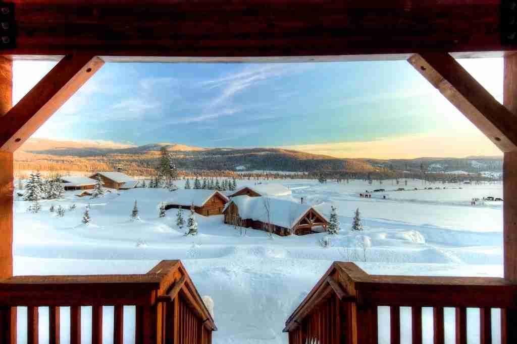 Vista Verde Saddle cabin Colorado view