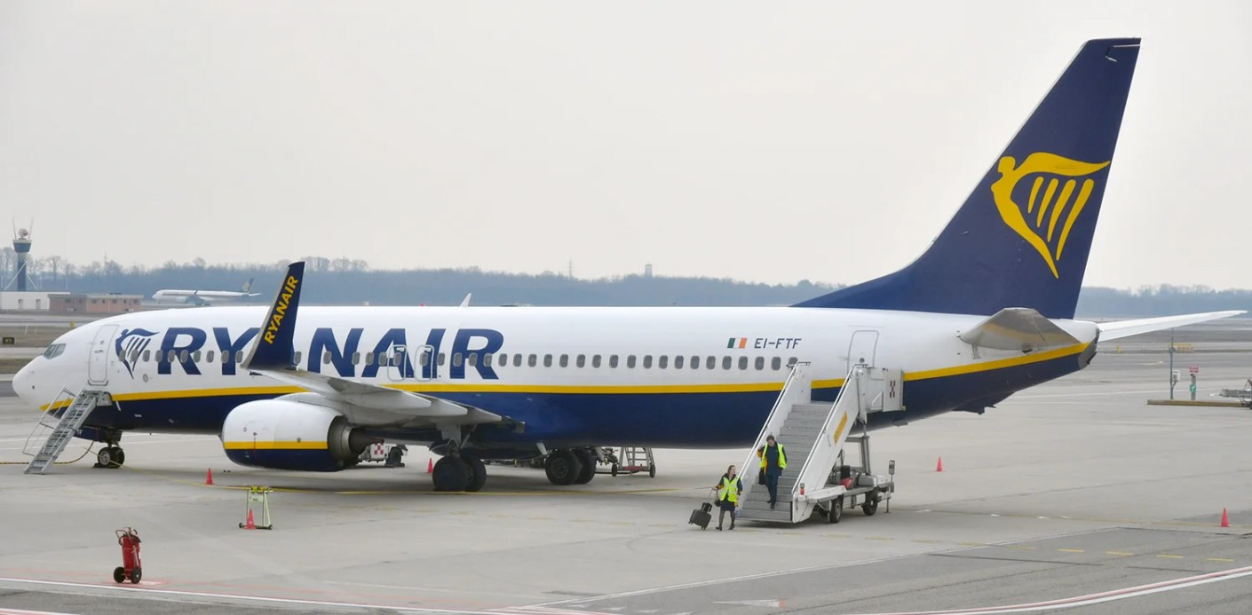 A Ryanair 737-800 at Milan Malpensa airport, February 28, 2018 (Photo by Alberto Riva/TPG)